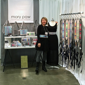 Mary Pow American Craft Council Show St. Paul 2016