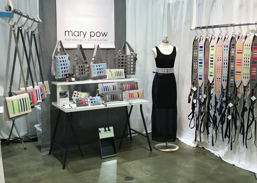 Mary Pow Handbags and Accessories American Craft Show ACC St. Paul 2016